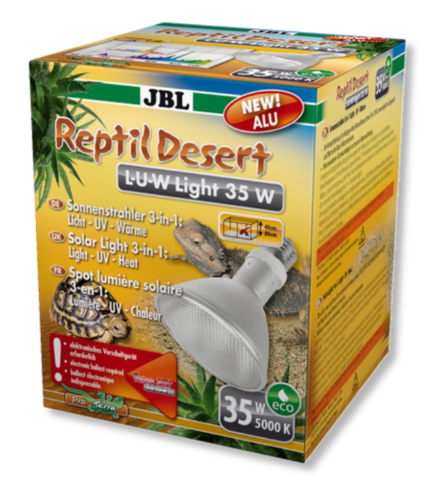 JBL ReptilDesert L-U-W Light alu