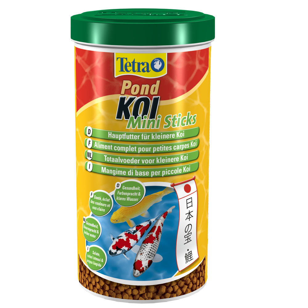 Tetra Pond Koi Mini Sticks 1 Liter (Hauptfutter)