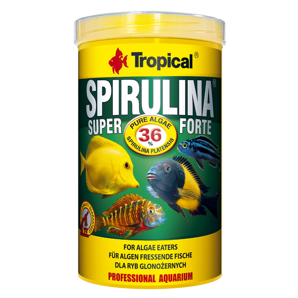 Tropical Super Spirulina Forte 36% Flocken