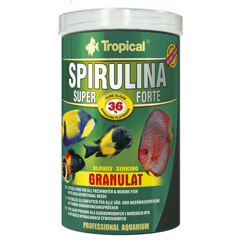 Tropical Super Spirulina Forte 36% Granulat 100 ml