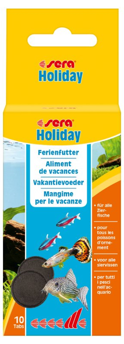sera Holiday 10 Tabletten Ferienfutter