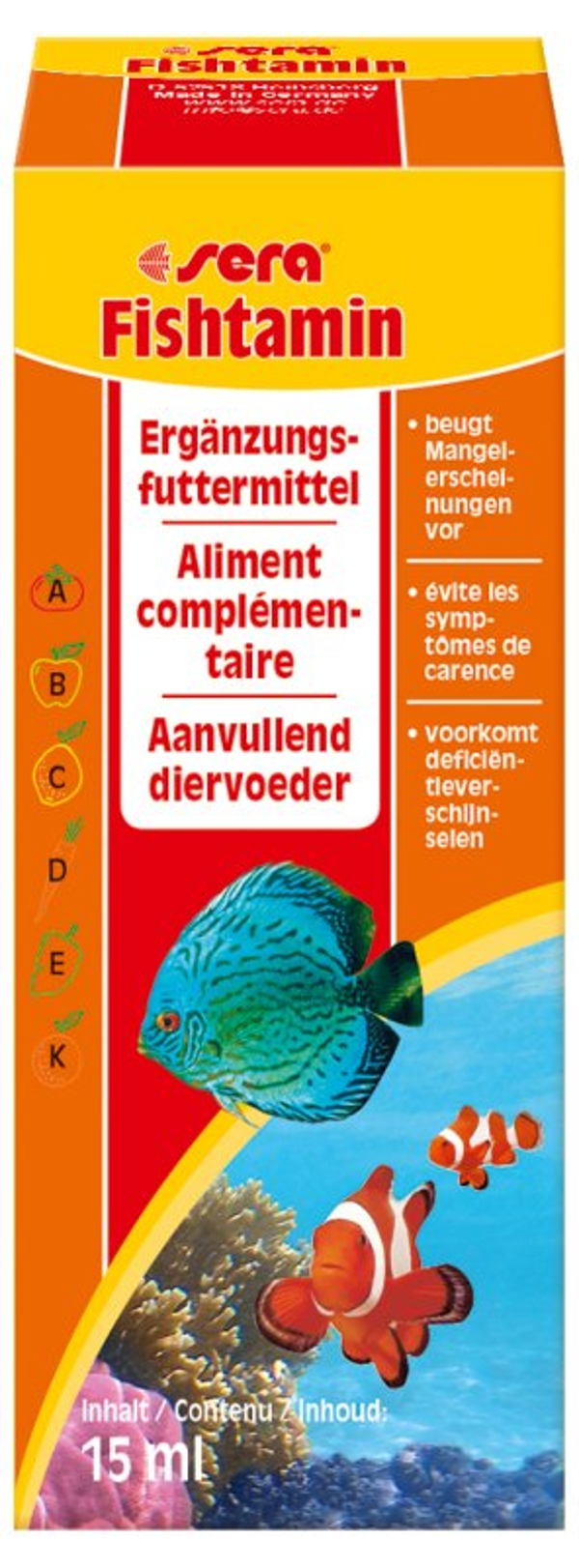 sera Fishtamin Multivitamine