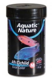 Aquatic Nature African Cichlid Excel Color M -130 g-