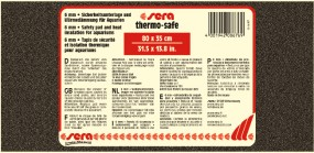 sera Thermo-safe 80 x 35 cm Aquariumunterlage