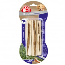 8in1 Delights Kausticks mit Rindfleisch 75g