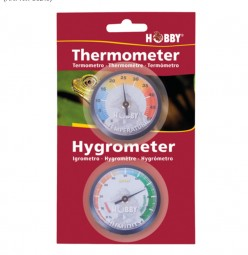 Hobby Analoges Hygro- und Thermometer