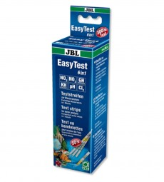 JBL EasyTest 6in1 Wassertest (pH, GH, KH,NO2, NO3, CL)