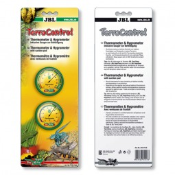 JBL TerraControl Thermo- und Hygrometer