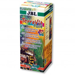 JBL TerraVit fluid 50 ml (Multivitamine, Spurenelemente)