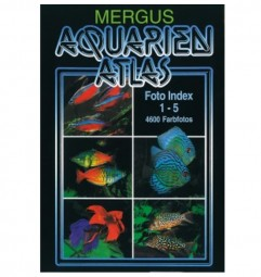 Aquarium Atlas Foto Index 1-5+Register 6 (Kunstleder)