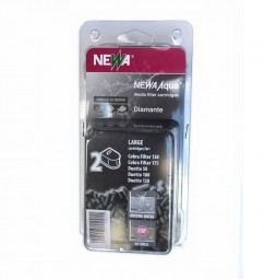 Newa Cobra CF 130/175 Diamante-Cartridges Kohle L