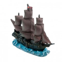 Penn-Plax Black Pearl Ship 11 cm