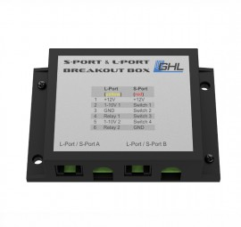 GHL S-Port & L-Port Breakout Box (S-L-Port BoB) PL-1680