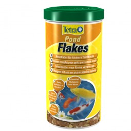 Tetra Pond Flakes Teichfutter Flocken