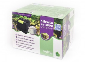 Velda Silenta Air Outdoor 4800 Belüftungsset