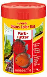 sera Discus Color Red Farbfutter