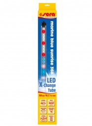 sera LED X-Change Tube marin blue sunrise